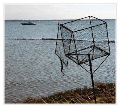 BLOG-DSC_1741-cage à appelant et pinasse face au Teich