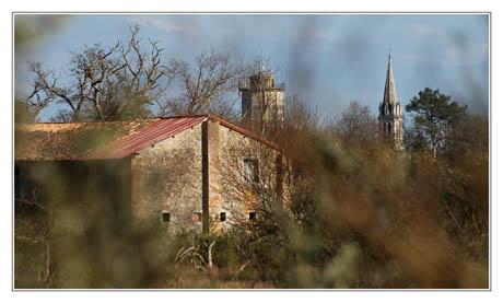 BLOG-DSC_1755-retour Graveyron, vue château d'eau et église