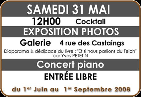 invitation expo photo le Teich