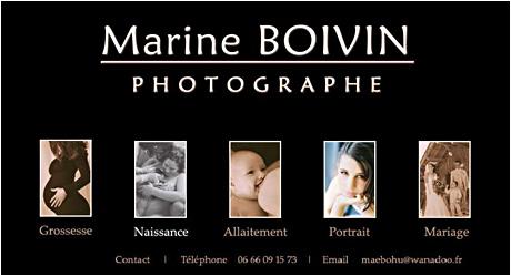Petites productions, Marine Boivin