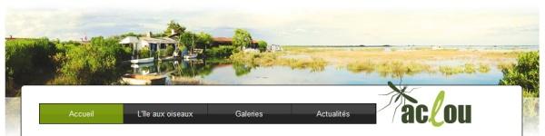 Site île aux oiseaux ACLOU