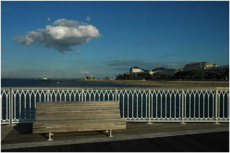 BLOG-DSC_5512-nuage sur banc  jetée Thiers, plage, jetée Eyrac