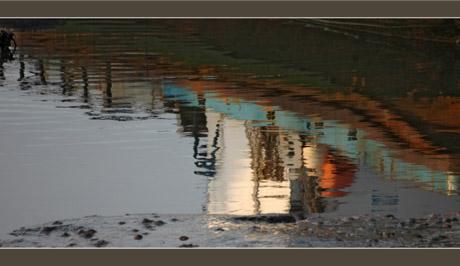 BLOG-DSC_6570-reflet drague port la Hume marée basse