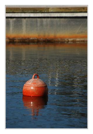 BLOG-DSC_8469-bouée rouge et ponton Cazaux
