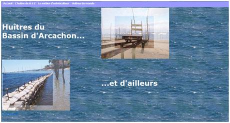 Huîtres du Bassin d'Arcachon..