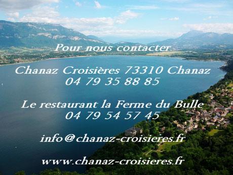 contact chanaz croisières