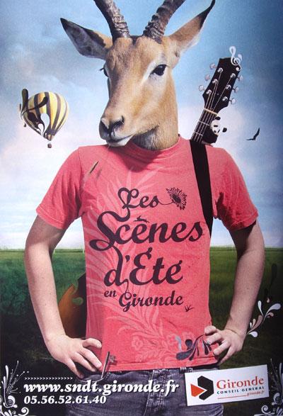 les scènes d'été en Gironde - Programme sur le Bassin d'Arcachon