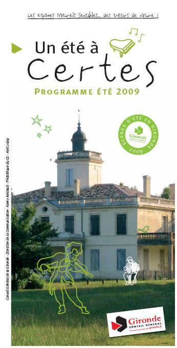 Un été à Certes 2009 - voir le programme