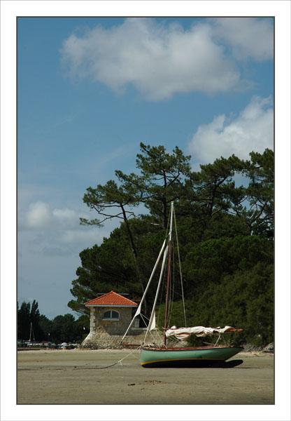BLOG-DSC_1074-voilier ancien plage Taussat