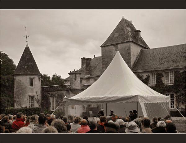 BLOG-DSC_1785-concert quartet Mascaret château Ruat le Teich rouge & sépia