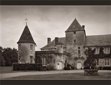 BLOG-DSC_1788-château du Ruat le Teich sépia