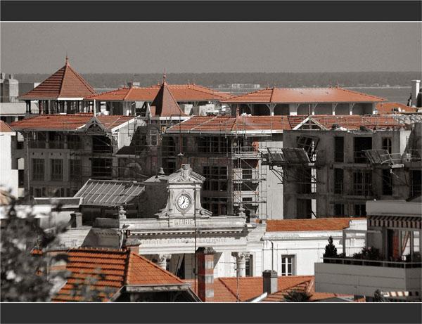 BLOG-DSC_1944-toits, mairie et ZAC Arcachon