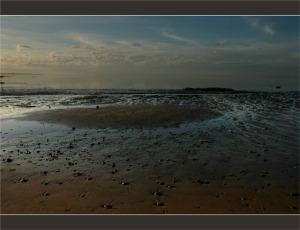 sable à marée descendante