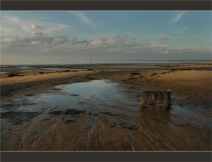 voir le panier de crabe plage du Teich