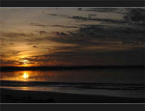 BLOG-DSC_2797-soleil couchant sur Bassin, plage du Teich