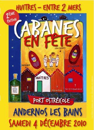 affiche Andernos cabanes en fête 2010