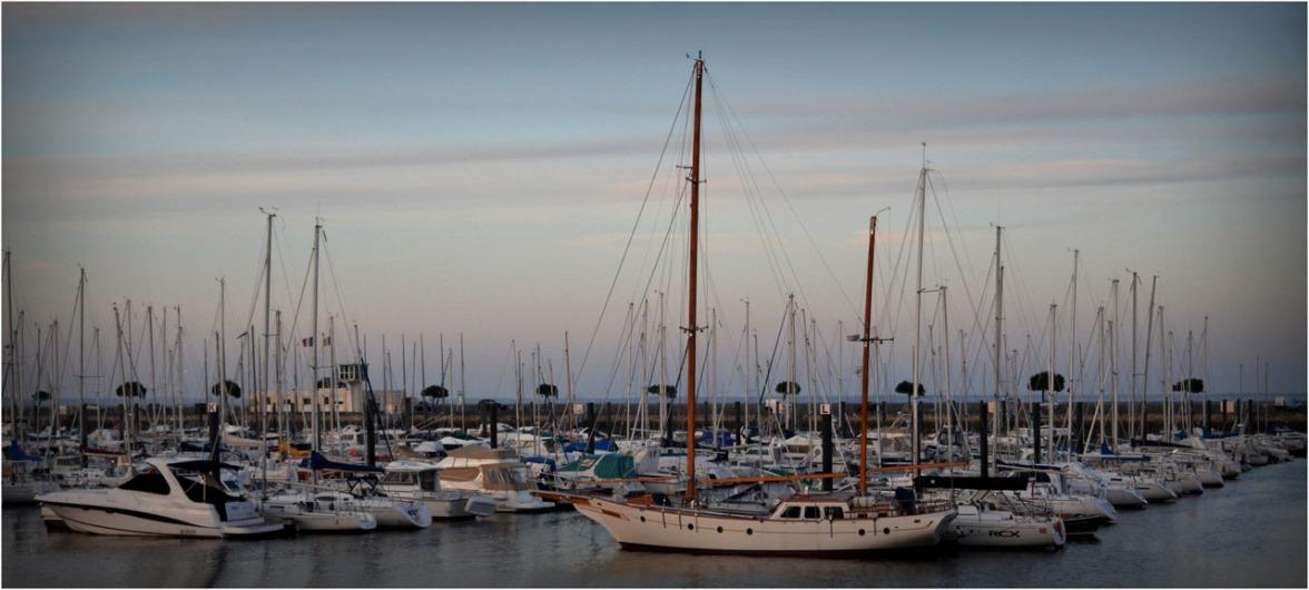 Blog dsc 00524 port plaisance arcachon vu depuis halle port de p che du c t du teich - Restaurant arcachon port de plaisance ...