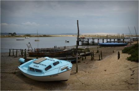 BLOG-DSC_05626-bateau bleu conche du Mimbeau et dune du Pyla