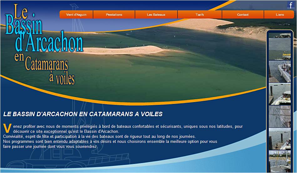 Vent d'Arguin - location catamaran Bassin Arcachon