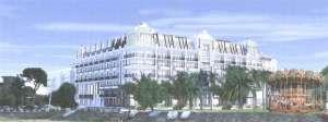projet Hôtel-Casino après démolition station marine Arcachon