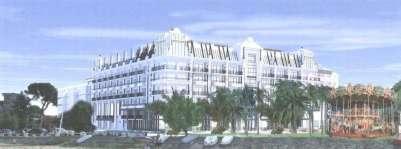 Projet Hotel-Casino Peyneau à Arcachon- source Sud-Ouest