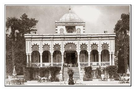 Carte ancienne Villa algérienne 2