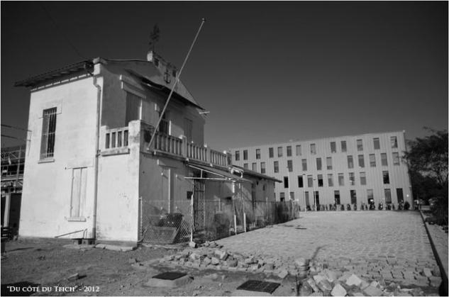 BLOG-DSC_17238-maison et bureaux quartier Bacalan bassins à flot N&B