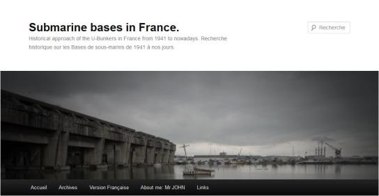 Blog Submarine bases in France - Mr John