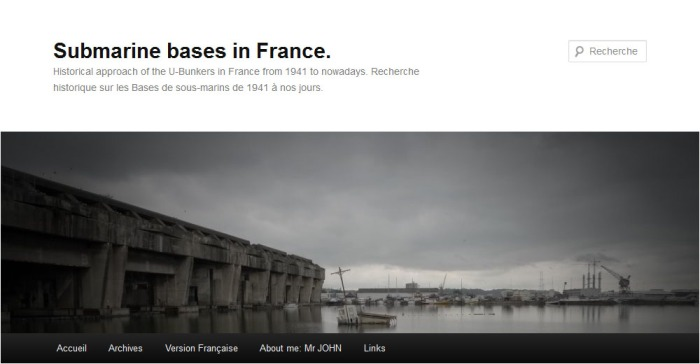 Blog Submarine bases in France - Mr John