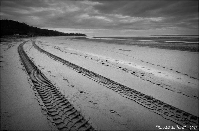 BLOG-DSC_18373-plage Péreire, jetée le Moulleau et pointe Cap-Ferret N&B