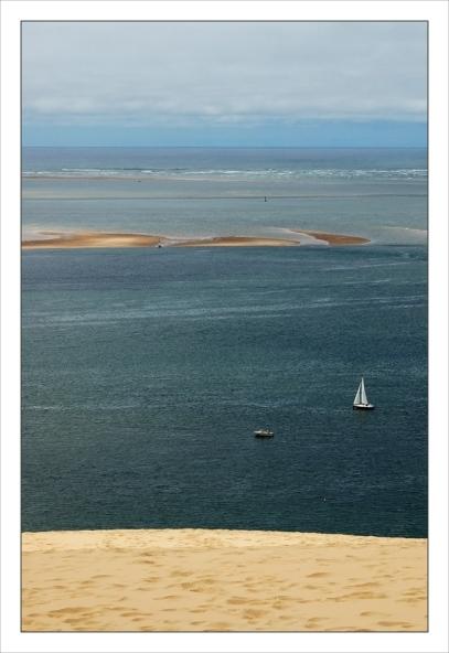CP-DSC_7758-dune, voilier, Banc d'Arguin