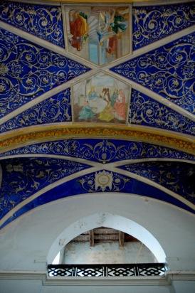 CP-DSC_9090-plafond entrée église Castelnau