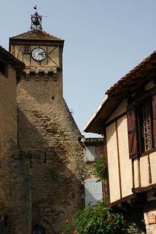 CP-DSC_9195-clocher & maisons Penne