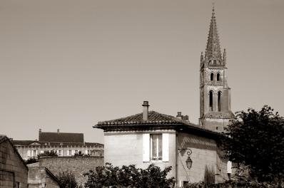CP-DSC_9347-clocher sépia