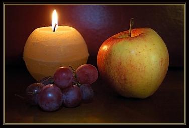 CP-DSC_3116-pomme, raisin, bougie