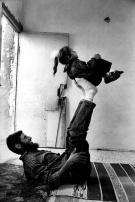 Samer Mohdad - Return to Gaza Fadlallah Abu Taylakh, one of the 415 expelled Palestinians after his return home at the Deir el-Balah refugee camp, Gaza Strip, 1995