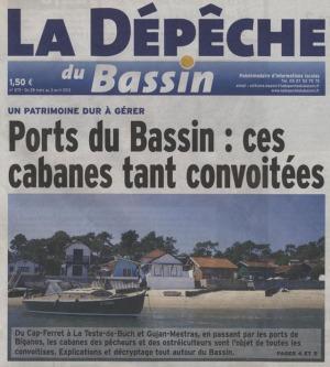 Dépêche du Bassin 28 Mars-3Avril 2013 - cabanes tant convoitées