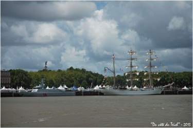 BLOG-DSC_2087-patrouilleur le Flamant et 3 mâts Cuauhtémoc