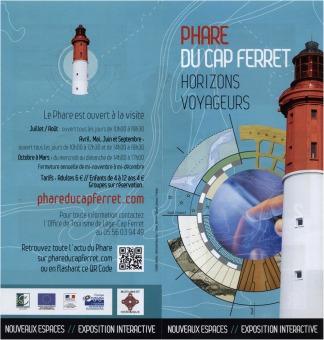 Dépliant phare Cap-Ferret 1