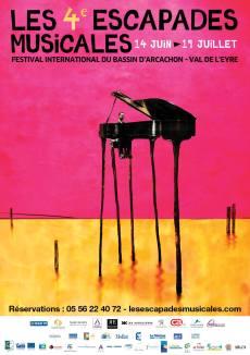 affiche Escapades Musicales-2013