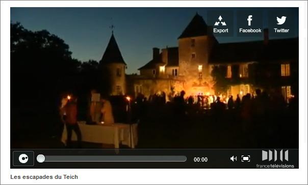 Vidéo Escapades musicales 2013 - Château de Ruat - Le Teich