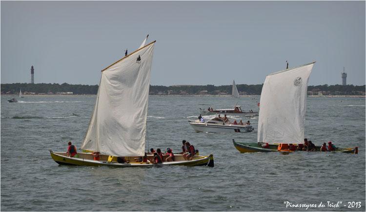 BLOG-DSC_24012-ND d'Arcachon et la Teychine départ régate le Moulleau 4 Août 2013