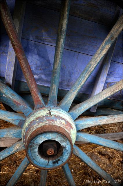 BLOG-DSC_25431-roue charrette bleue Marquèze