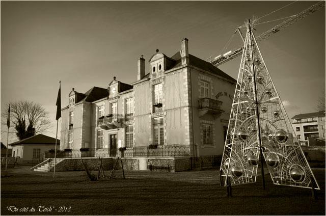 BLOG-DSC_18987-sapin de Noël mairie la Teste janvier 2013 sépia