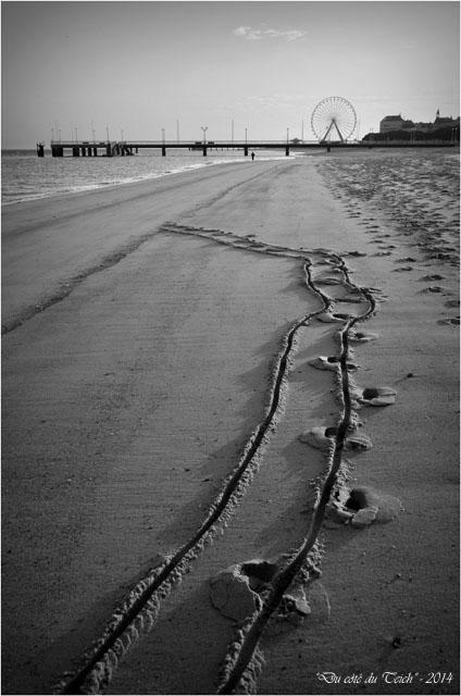 BLOG-DSC_26487-plage Arcachon jetée Thiers et roue N&B