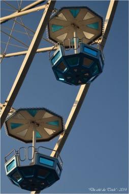 La grande roue d'Arcachon, comme si vous y étiez !… (vidéo TVBA et photos)