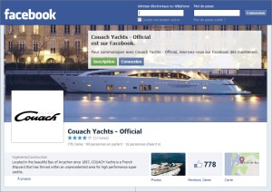 Couach - page Facebook