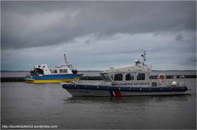 BLOG-DSC_27053-gendarmerie et Kalititou port du Canal jour mise à l'eau yacht 5000 Fly 02 Couach le Belongers 1er Mars 2014