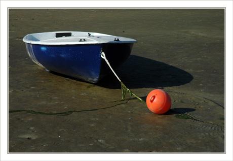 BLOG-DSC_0068-barque  & bouée rouge sur vase Taussat