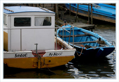 BLOG-DSC_5757-sabot de Noël & barque bleue